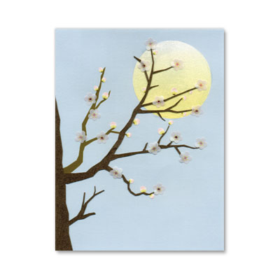 BRANCH WITH MOON