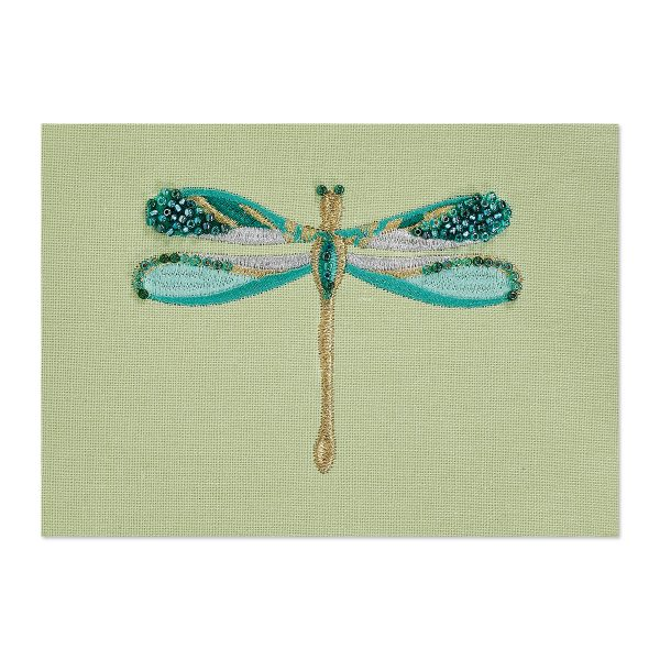 EMBROIDERED DRAGONFLY