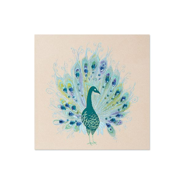 PEACOCK WITH GEMS