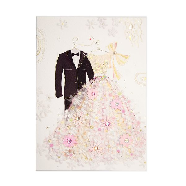 WEDDING SUIT AND GOWN